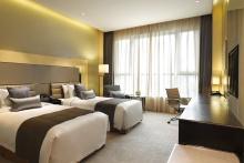 皇冠高级双床房