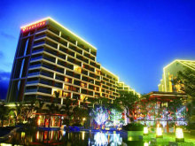 Kingkey Palace Hotel Shenzhen会议场地-外观夜景