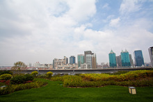 ShanghaiMart Conference Center会议场地-屋顶花园-户外平台1