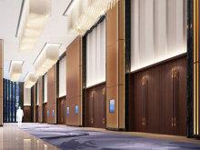 Hilton Shenzhen Shekou Nanhai会议场地-海上世界大宴会厅前厅