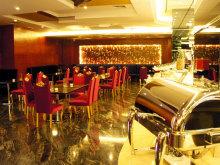 餐厅布菲台
