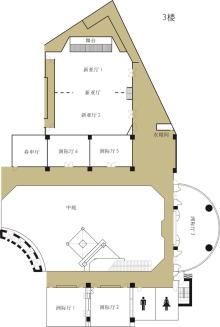 3楼平面图