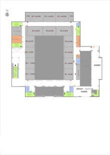 会议楼2层平面图