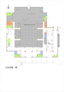 会议楼1层平面图